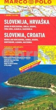 Slovinsko/Chorvatsko/mapa 1:800 000 MD cena od 199 Kč