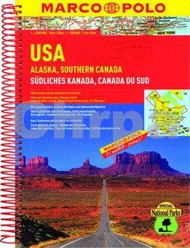 Marco Polo USA ,Alaska,Southern Canada 1:4M/1:800 000 MD cena od 233 Kč
