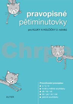 Kolektiv autorů: Pravopisné pětiminutovky pro 2. ročník cena od 18 Kč