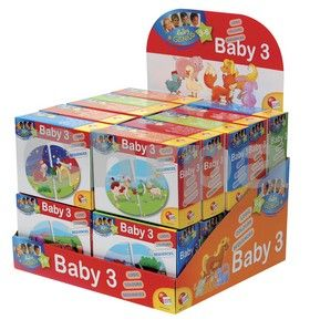 EPline Baby genius baby skládačka 3v1 cena od 99 Kč