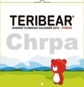 PRESCOGROUP Teribear rodinný plánovací - nástěnný kalendář 2013 cena od 49 Kč