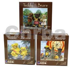 EPline Puzzle dětské 48 dílků, Medvídek cena od 34 Kč