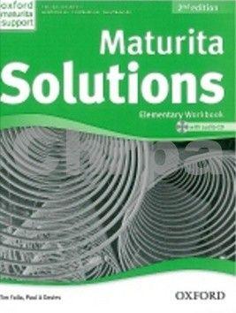 Falla Tim, Davies Paul A.: Maturita Solutions 2nd Edition Elementary Workbook with Audio CD CZEch Edition cena od 221 Kč