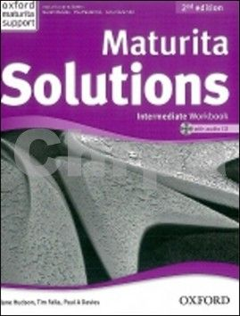 Falla Tim, Davies Paul A.: Maturita Solutions 2nd Edition Intermediate Workbook with Audio CD CZEch Edition cena od 206 Kč