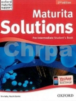 Falla Tim, Davies Paul A.: Maturita Solutions Pre-Intermediate 2nd Edition Student´s Book CZ cena od 355 Kč