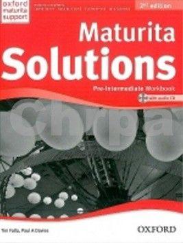 Falla Tim, Davies Paul A.: Maturita Solutions Pre-Intermediate Workbook 2nd Edition with audio CD pack CZ cena od 206 Kč