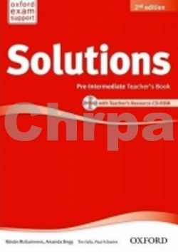 Falla Tim, Davies Paul A.: Maturita Solutions 2nd Edition Pre-intermediate Teacher´s Book with Teacher´s Resource CD-ROM cena od 368 Kč