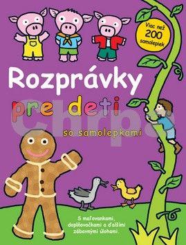 Rozprávky pre deti so samolepkami cena od 152 Kč