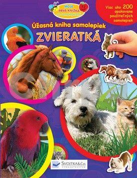 Svojtka Úžasná kniha samolepiek Zvieratká cena od 83 Kč