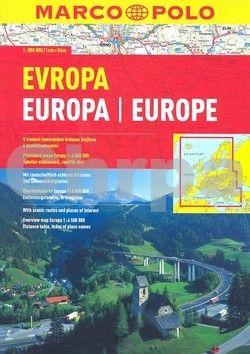 Evropa 1:800 000 cena od 190 Kč