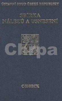 C.H.Beck Sbírka nálezů a usnesení ÚS ČR, svazek 60 cena od 593 Kč
