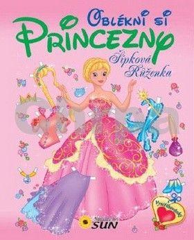 Oblékni si princezny Šípková Růženka cena od 73 Kč