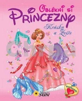 Oblékni si princezny Kráska a Zvíře cena od 60 Kč