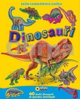 Eduardo Trujillo: Dinosauři - Akční samolepková knížka cena od 63 Kč