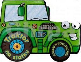 Blue Duck Egg: Traktor - stiskni a poslouchej cena od 114 Kč