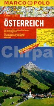 Marco Polo Rakousko mapa 1:300 000 cena od 199 Kč