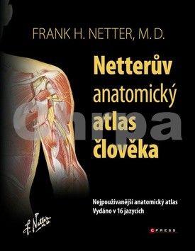Frank H. Netter: Netterův anatomický atlas člověka cena od 1696 Kč