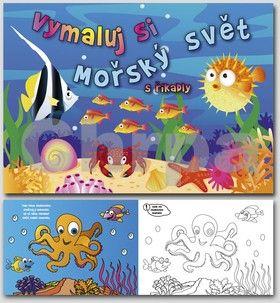 HELMA Mořský svět s říkadly - omalovánka cena od 35 Kč