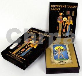 Zdenka Blechová: Egyptský tarot lásky (kniha + 24 karet) cena od 376 Kč