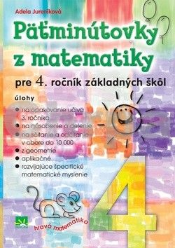 Príroda Päťminútovky z matematiky pre 4. ročník základných škôl cena od 100 Kč