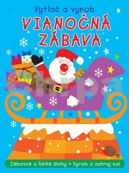 Svojtka Vianočná zábava Vytlač a vyrob cena od 75 Kč