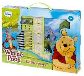 Medvídek Pú - razítka v kufříku cena od 0 Kč