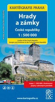 Kartografie PRAHA Hrady a zámky České republiky cena od 89 Kč