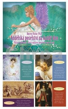 Doreen Virtue: Andělská poselství na každý den cena od 252 Kč