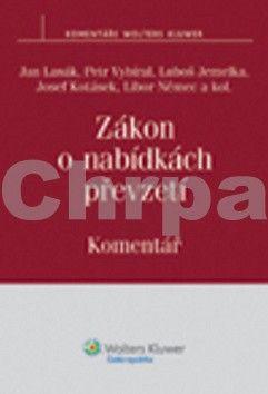 Jan Lasák: Zákon o nabídkách převzetí cena od 906 Kč