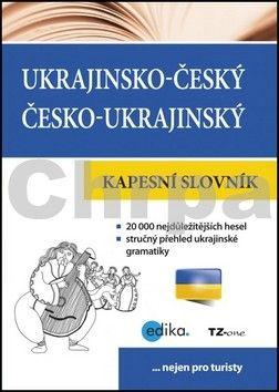 TZ-one: Ukrajinsko-český česko-ukrajinský kapesní slovník cena od 55 Kč
