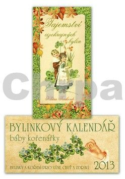 Klára Trnková: Bylinkový kalendář 2013 + Tajemství cizokrajných bylin cena od 169 Kč