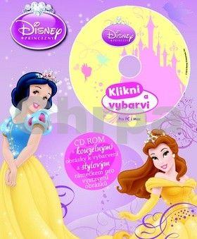Disney Princezny Omalovánka s CD cena od 48 Kč