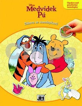 Medvídek Pú Zábava se samolepkami cena od 0 Kč