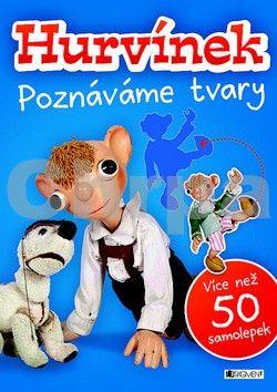 Helena Štáchová, Jiří Vyskočil: Hurvínek - Poznáváme tvary – více než 50 samolepek cena od 72 Kč