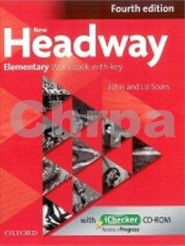 Liz Soars, John Soars: New Headway Elementary - Workbook with key cena od 212 Kč