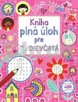Kniha plná úloh pre dievčatá cena od 187 Kč