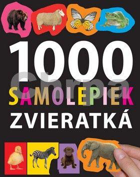 Svojtka 1000 samolepiek zvieratká cena od 190 Kč