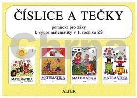 Novotná Marie: Číslice a tečky Pomůcka pro žáky k výuce matematiky v 1. ročníku ZŠ cena od 19 Kč