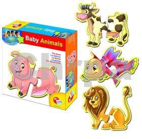 EPline Baby genius baby zvířátka tvarovaná cena od 159 Kč