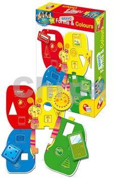 EPline Baby genius poznej tvary a barvy cena od 145 Kč