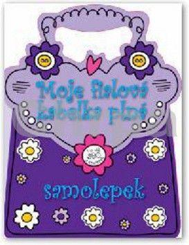 Moje fialová kabelka plná samolepek cena od 0 Kč