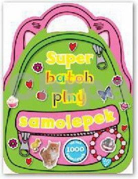 Super batoh plný samolepek cena od 130 Kč