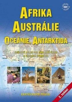 Kartografie PRAHA Afrika, Austrálie, Oceánie, Antarktida cena od 79 Kč