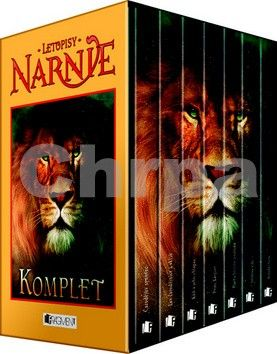 C. S. Lewis: Letopisy Narnie 1-7.díl Komplet krabice - 3. vydání