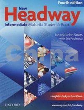 Soars John and Liz: New Headway Fourth Edition Intermediate Maturita Student´s Book + iTutor DVD CZ cena od 415 Kč