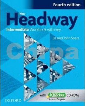 John a Liz Soars: New Headway Intermediate Workbook with Key Fourth Edition + iChecker CD-rom cena od 199 Kč