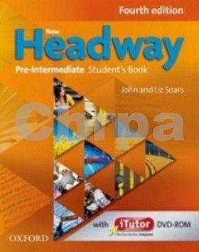 Soars John and Liz: New Headway Fourth Edition Pre-Intermediate Maturita Student´s Book + iTutor DVD CZ cena od 427 Kč