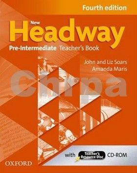 John a Liz Soars: New Headway Fourth Edition Pre-Intermediate Teacher´s Book with resource disc cena od 408 Kč