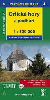 Kartografie PRAHA Orlické hory a podhůří 1:100 000 cena od 58 Kč
