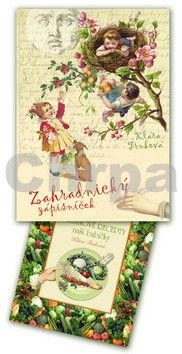 Klára Trnková: Zahradnický zápisníček 2013 + Tajné zeleninové recepty cena od 0 Kč